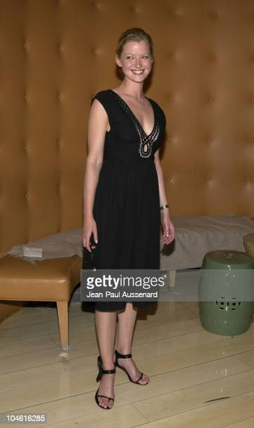 Gretchen Mol during 2002 Fox Summer TCA Party at Sky Bar at The Mondrian Hotel in West Hollywood California United States