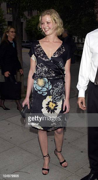 Gretchen Mol during 2002 Tribeca Film Festival Vanity Fair Party at The State Supreme Courthouse in New York City New York United States