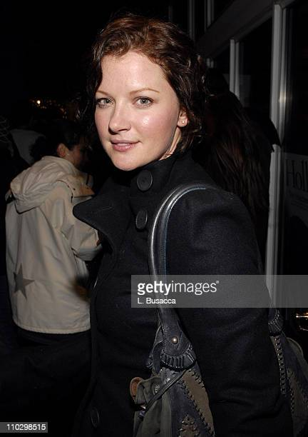 Gretchen Mol during 2007 Park City Hollywood Life House The Ten After Party at Hollywood Life House in Park City Utah United States