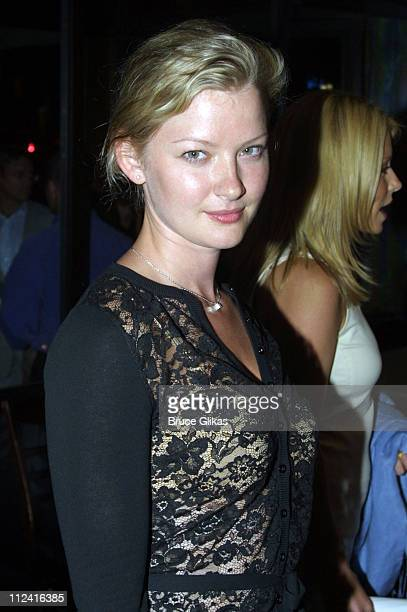 Gretchen Mol during After Party Celebrating Opening Night for Intrigue With Faye at West Bank Cafe in New York City New York United States