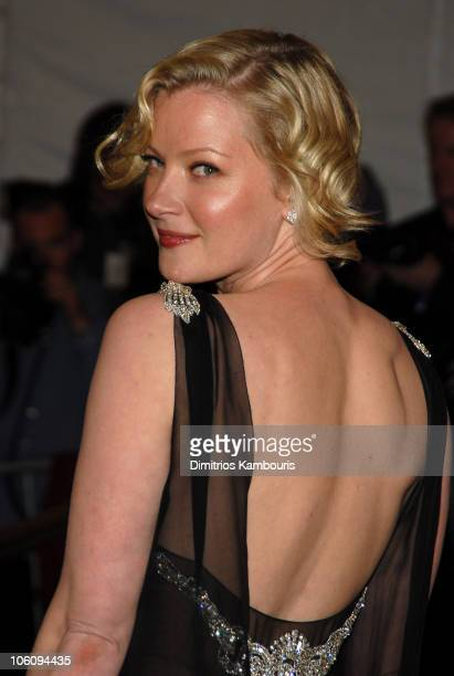 Gretchen Mol during AngloMania Costume Institute Gala at The Metropolitan Museum of Art Arrivals Celebrating AngloMania Tradition and Transgression...