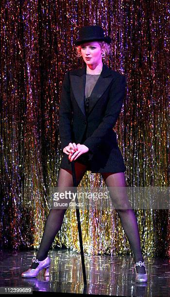 Gretchen Mol during Chicago on Broadway Welcomes Gretchen Mol at The Ambassador Theater in New York City New York United States