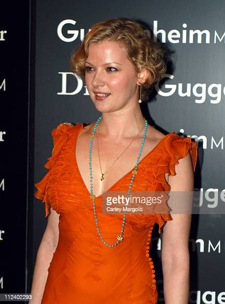 Gretchen Mol during Dior Sponsors the Solomon R Guggenheim Museum's Young Collectors Council Artist's Ball Honoring Matthew Ritchie at Guggenheim...
