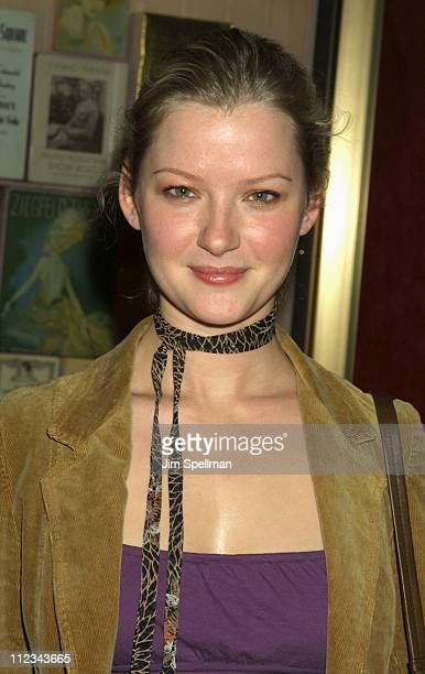 Gretchen Mol during New York Premiere Of The Last Waltz Rerelease at The Ziegfeld Theatre in New York New York United States