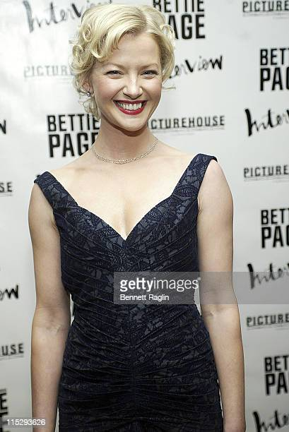 Gretchen Mol during The Notorious Bettie Page New York City Premiere Arrivals at AMC Loews in New York City New York United States