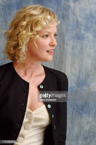 Gretchen Mol during The Notorious Bettie Page Press Conference with Gretchen Mol at Four Seasons in Beverly Hills California United States
