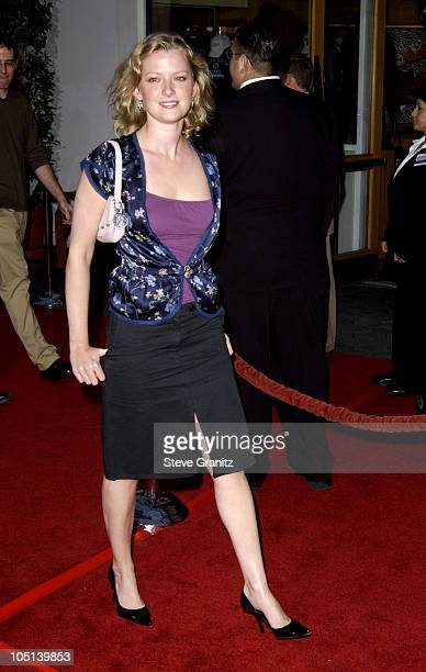 Gretchen Mol during The World Premiere of Bruce Almighty at Universal Amphitheatre in Universal City California United States