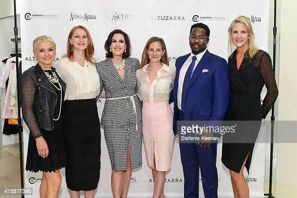 Gretchen Pace Amy Wakeland Karis Durmer Bridget Gless Keller Daniel Beaty and Jill Olofsen attend The CHIPS Spring Luncheon 2015 on May 14 2015 in...