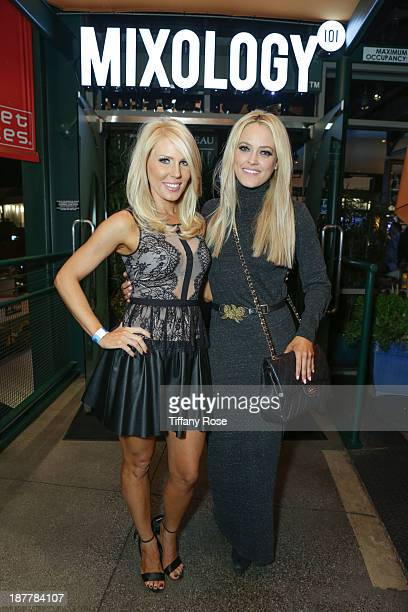 "Gretchen Rossi and Peta Murgatroyd attend the unofficial ""Dancing With The Stars"" afterparty at Mixology101 on November 11, 2013 in Los Angeles,..."