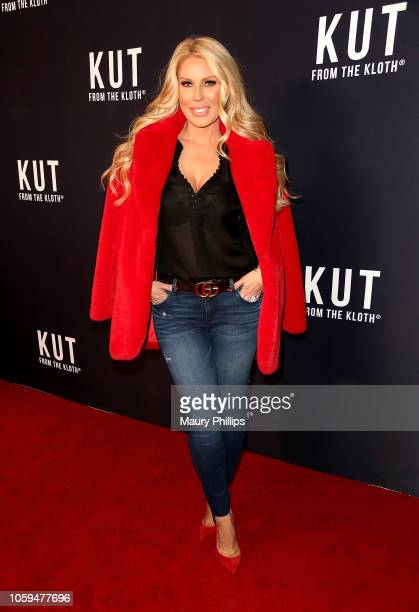 Gretchen Rossi arrives at Kut From The Kloth Launch Party for Premium Heritage Denim at Sofitel Los Angeles At Beverly Hills on November 8 2018 in...