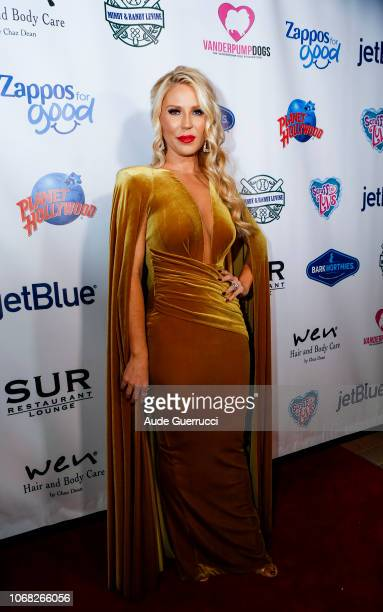 Gretchen Rossi arrives at the 3rd Annual Vanderpump Dog Foundation Gala at Taglyan Cultural Complex on November 15 2018 in Hollywood California