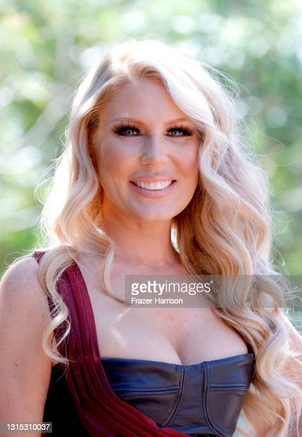 Gretchen Rossi attends Jonathan Marc Stein Autumn/Winter 2021 Virtual Show Debut Filming on April 29, 2021 in Studio City, California.