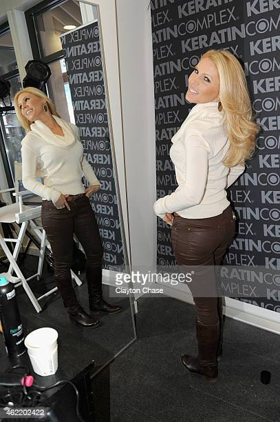 Gretchen Rossi attends Music Lodge Hosts MTV Interview Studio Day 2 on January 25 2015 in Park City Utah
