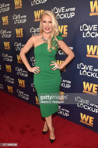 Gretchen Rossi attends WE tv celebrates the return of Love After Lockup with panel Real Love Relationship Reality TV's Past Present Future at The...