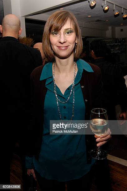 Gretchen Skogerson attends Whitney Biennial Artists Party at Trata Estiatoria on March 8 2008 in New York City