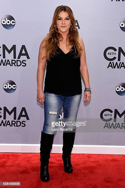 Gretchen Wilson attends the 48th annual CMA Awards at the Bridgestone Arena on November 5 2014 in Nashville Tennessee