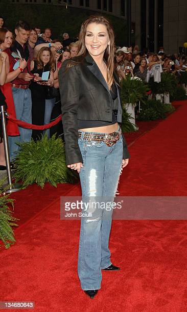 Gretchen Wilson during 2005 CMT Music Awards Arrivals at Gaylord Entertainment Center in Nashville Tennessee United States