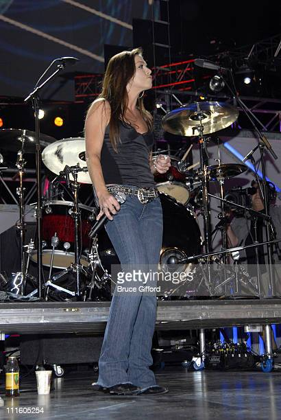 Gretchen Wilson during 2007 VH1 Rock Honors Rehearsals Day 2 at MGM Grand in Las Vegas Nevada United States
