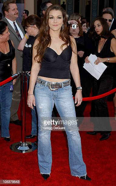 Gretchen Wilson during 32nd Annual American Music Awards Arrivals at Shrine Auditorium in Los Angeles California United States
