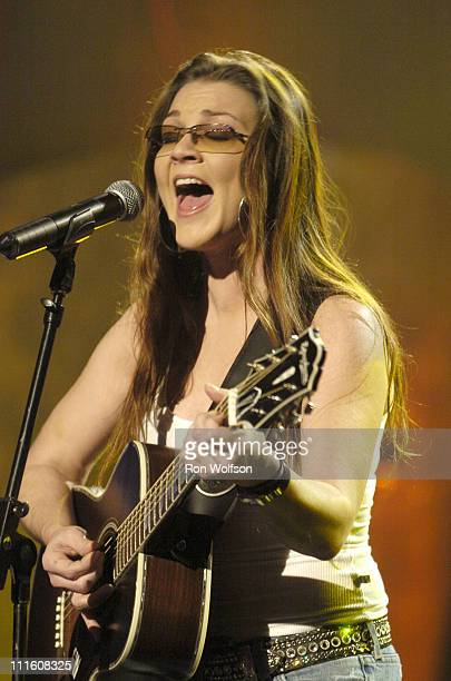 Gretchen Wilson during 32nd Annual American Music Awards Day Four Rehearsals at Shrine Auditorium in Los Angeles California United States