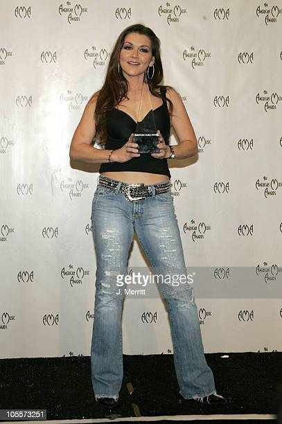 Gretchen Wilson during 32nd Annual American Music Awards Press Room at Shrine Auditorium in Los Angeles California United States