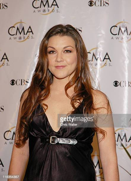 Gretchen Wilson during 38th Annual Country Music Awards Arrivals at Grand Ole Opry House in Nashville Tennessee United States