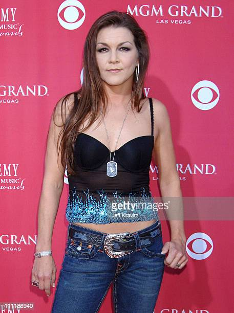 Gretchen Wilson during 41st Annual Academy of Country Music Awards Arrivals at MGM Grand Theater in Las Vegas Nevada United States