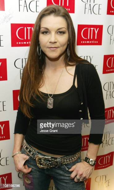 Gretchen Wilson during City Face GRAMMY's Official Talent Lounge at City Cosmetics Green Room Day One at Staples Center in Los Angeles California...