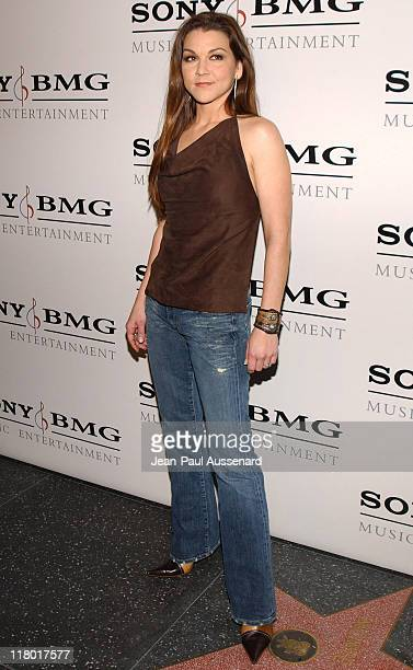 Gretchen Wilson during Sony/BMG Music Entertainment 2005 After GRAMMY Awards Party Arrivals at Hollywood Roosevelt Hotel in Hollywood California...