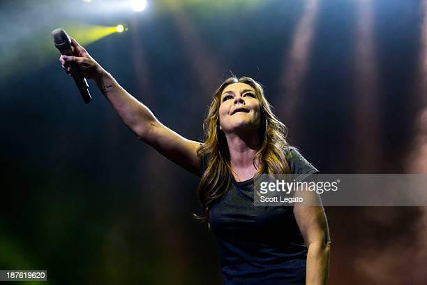 Gretchen Wilson performs at Motor City Casino on November 10 2013 in Detroit Michigan