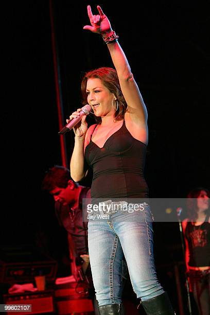 Gretchen Wilson performs in concert at The Nutty Brown Amphitheater on May 15 2010 in Austin Texas