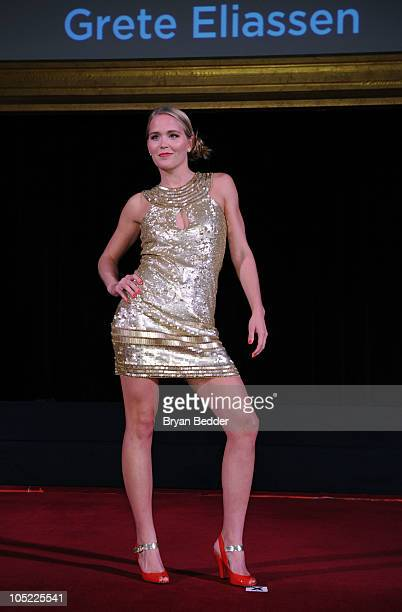 Grete Elianssen attends the 31st Annual Salute to Women in Sports gala at The WaldorfAstoria on October 12 2010 in New York City