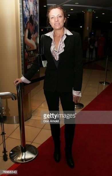 Gretel Killeen attends the Sydney premiere of Miss Saigon at the Lyric Theatre on September 22, 2007 in Sydney, Australia.