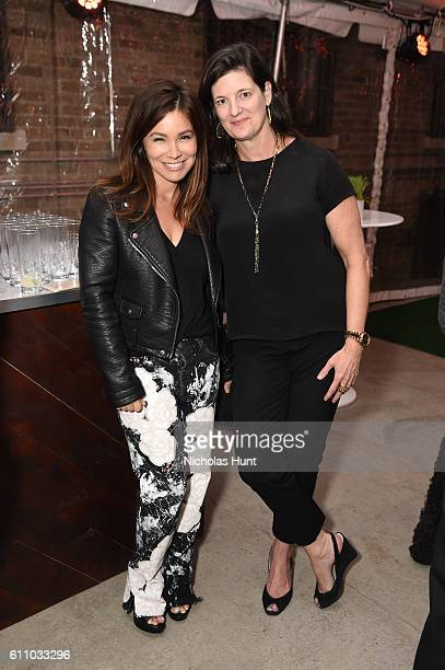 Gretta Monahan and Editor-In-Chief of Rachael Ray Everyday Magazine Lauren Purcell attend the celebration of the launch of Rachael Ray's Nutrish DISH...