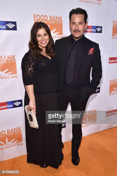 Gretta Monahan and Ricky Paull Goldin attend the Food Bank for New York City CanDo Awards Dinner 2017 on April 19 2017 in New York City