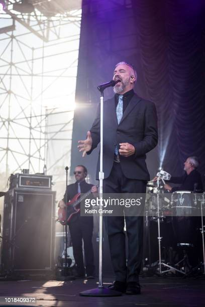 Grey and Mofro perform at The Lawn at White River State Park on August 12 2018 in Indianapolis Indiana