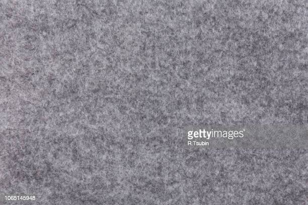 Grey felt material as a background or texture