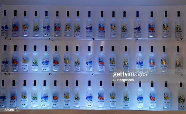 Grey Goose Bar display during Grey Goose Entertainment and Sundance Channel in Association with Conde Nast Media Group Celebrate 2006 Iconoclasts...