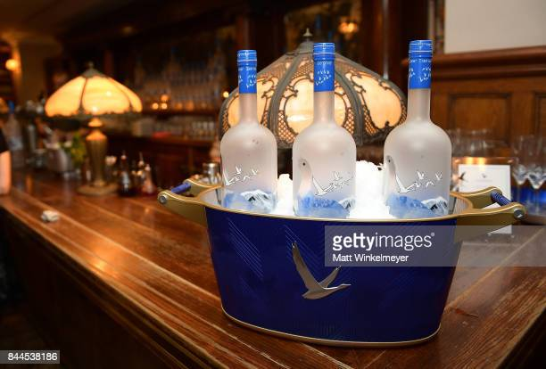 Grey Goose displayed during the 'Stronger' premiere party hosted by GREY GOOSE vodka and Soho House on September 8 2017 in Toronto Canada