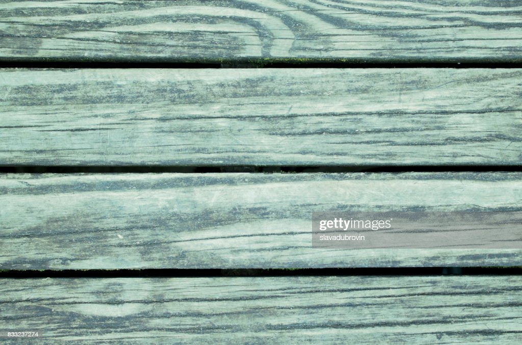 Grey Green Toned Wooden Background Colored Wood Surface Template Stock Photo