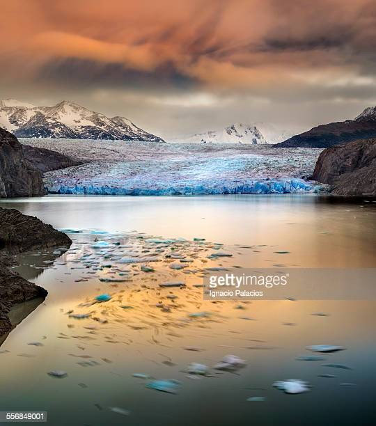 Grey Lake and Glacier, Torres del Paine