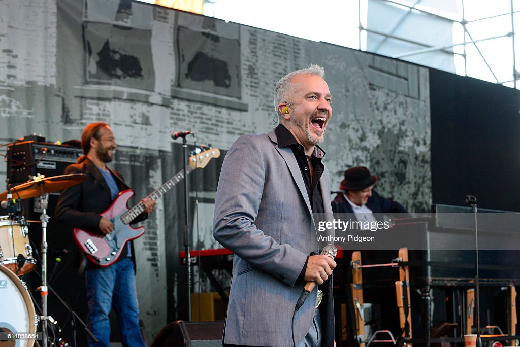JJ Grey of JJ Grey & Mofro perform onstage at Waterfront Blues Festival, at Tom McCall Waterfront Park, Portland, Oregon, USA on 3rd July, 2016.