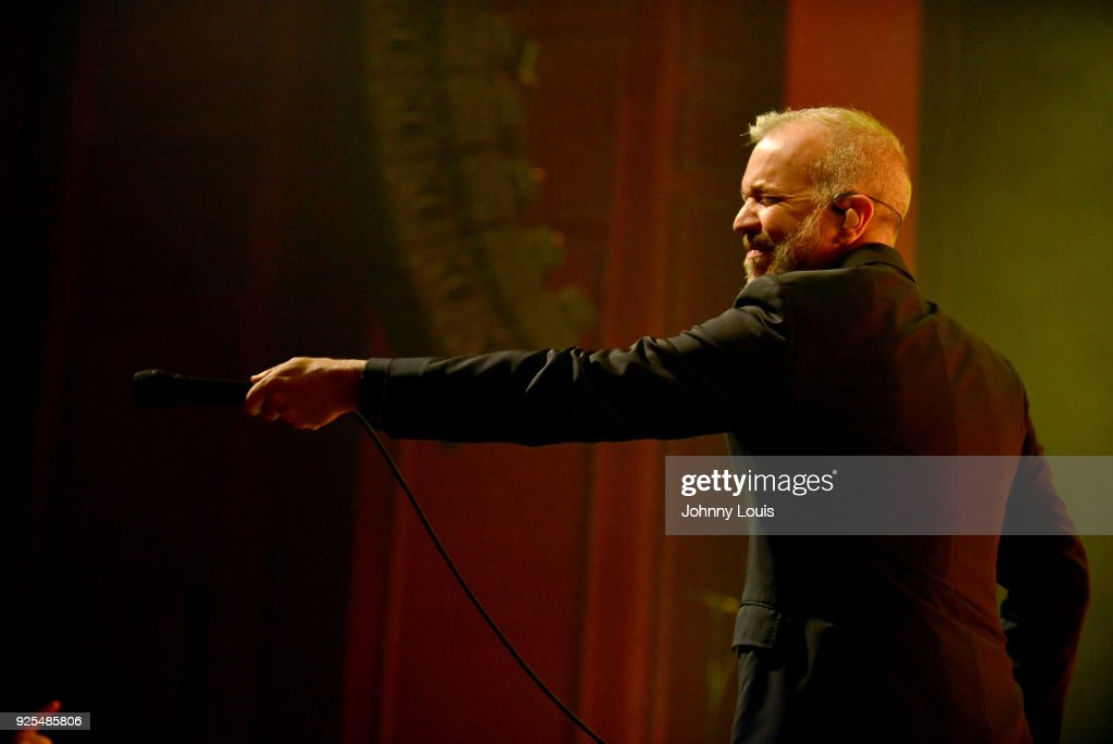 JJ Grey of JJ Grey & Mofro performs at The Fillmore Miami Beach at Jackie Gleason Theater on February 25, 2018 in Miami Beach, Florida.