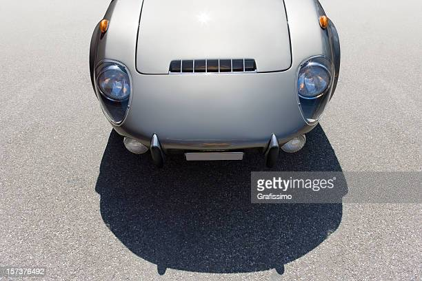 Grey old sportscar