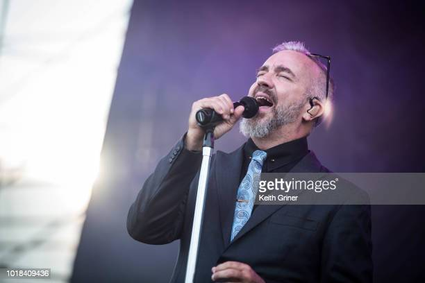 Grey performs at The Lawn at White River State Park on August 12 2018 in Indianapolis Indiana