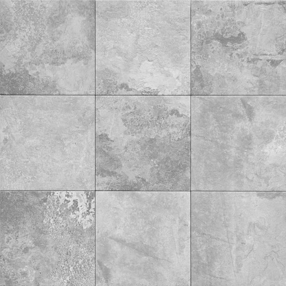 grey stone texture pattern - patchwork tile  /  tiled background 1132199875