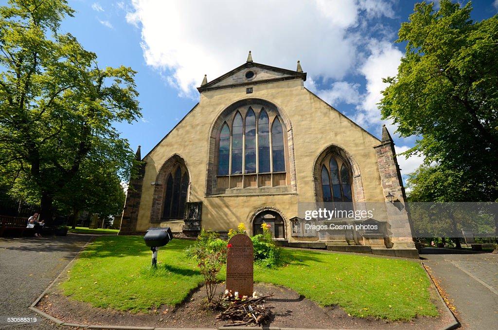 Greyfriars Kirkyard, Edinburgh, Scotland : Stock Photo