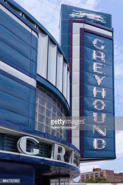 greyhound bus station (1938) - rainer grosskopf stock pictures, royalty-free photos & images