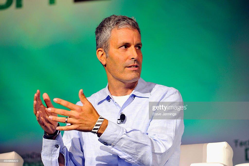 Greylock Partners Partner James Slavet speaks onstage at TechCrunch Disrupt at Pier 48 on September 8, 2014 in San Francisco, California.