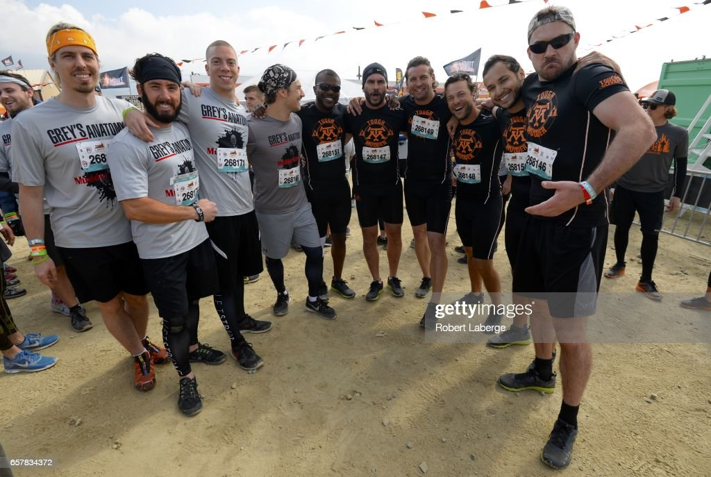 Grey\'s Anatomy actor Giacomo Gianniotti (4th-L) and friends pose ...